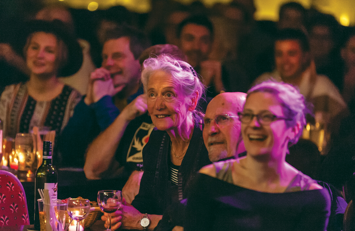 Audiences at a cabaret night at the Holbeck before coronavirus struck. Photo: Simon Keith Allen