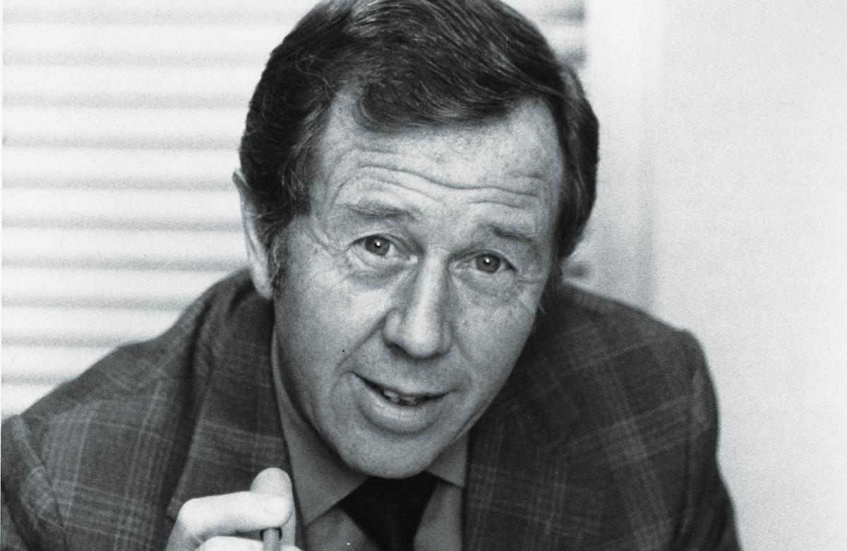 Michael Medwin in 1979. Photo: BBC