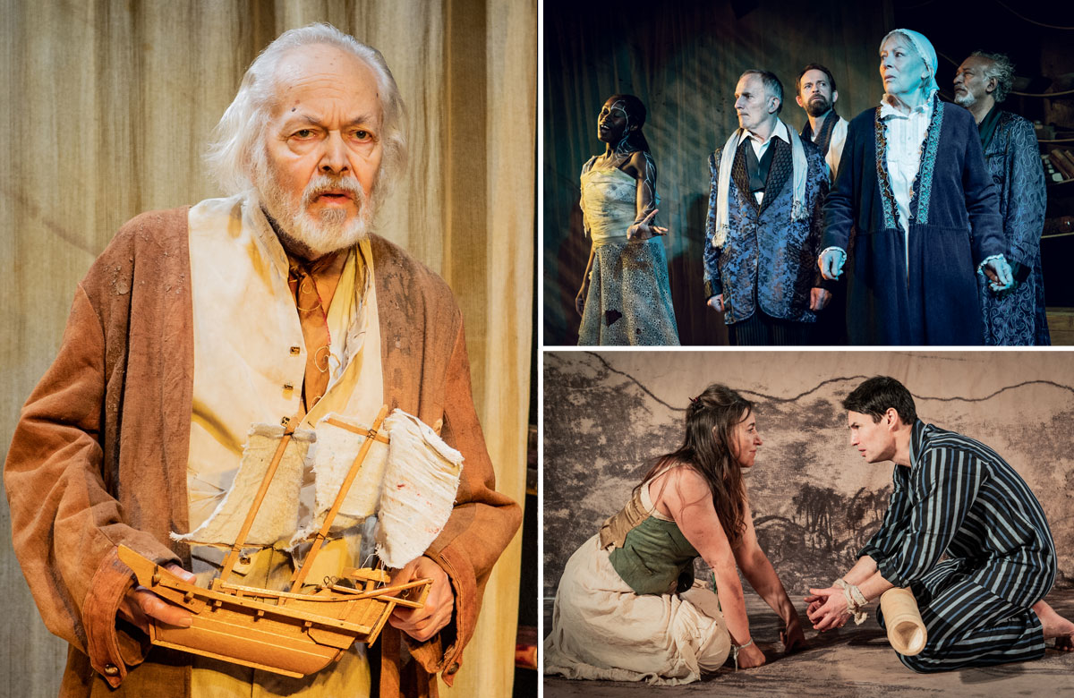 The Tempest at Jermyn Street Theatre. Photos: Robert Workman