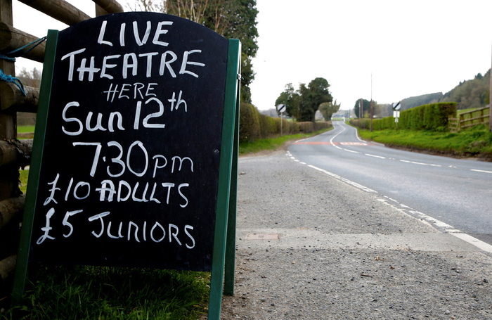 Rural touring may be one of the first types of live theatre to restart after the lockdown. Photo: Tom Middleton
