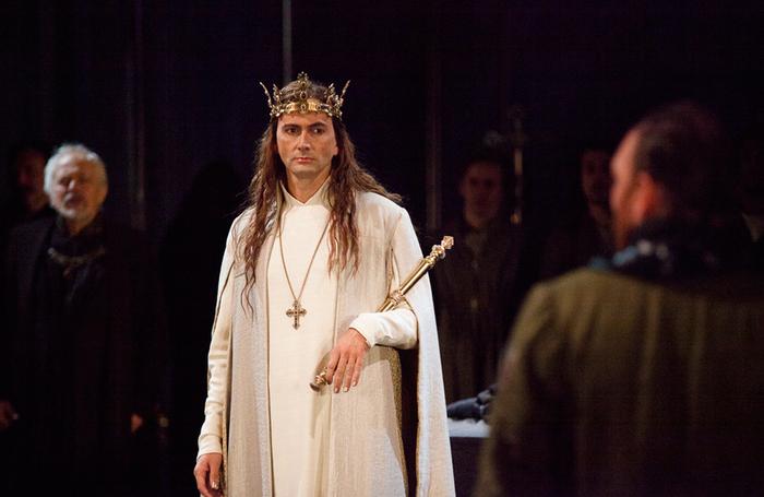 David Tennant in Richard II at the RSC in 2013. Photo: Kwame Lestrade/RSC