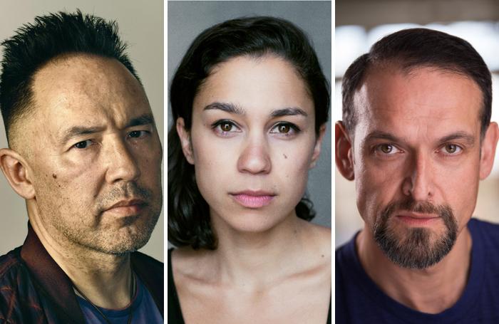 Daniel York Loh, Danusia Samal, Nicholas Khan. Photo: Sebastian Nevols