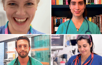 Theatre at the NHS front line: Meet the extraordinary creatives helping to fight the Covid-19 pandemic in the UK