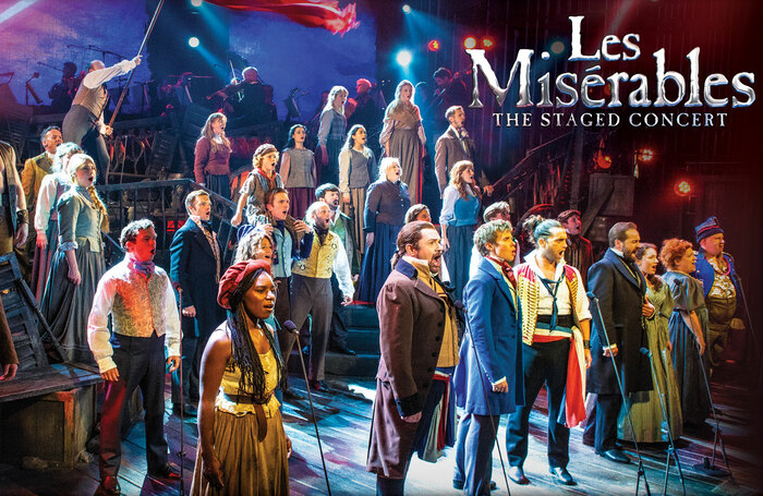 A concert production of Les Mis will become available as a digital download.