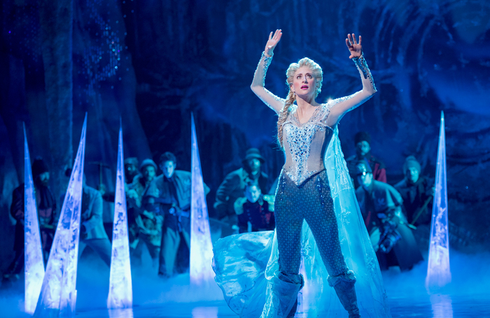 Frozen on Broadway is one of the shows to be hit hard by the coronavirus crisis. Photo: Deen van Meer