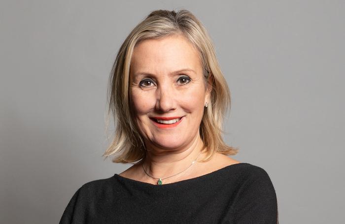 Caroline Dinenage. Photo: Department for Digital, Culture, Media and Sport
