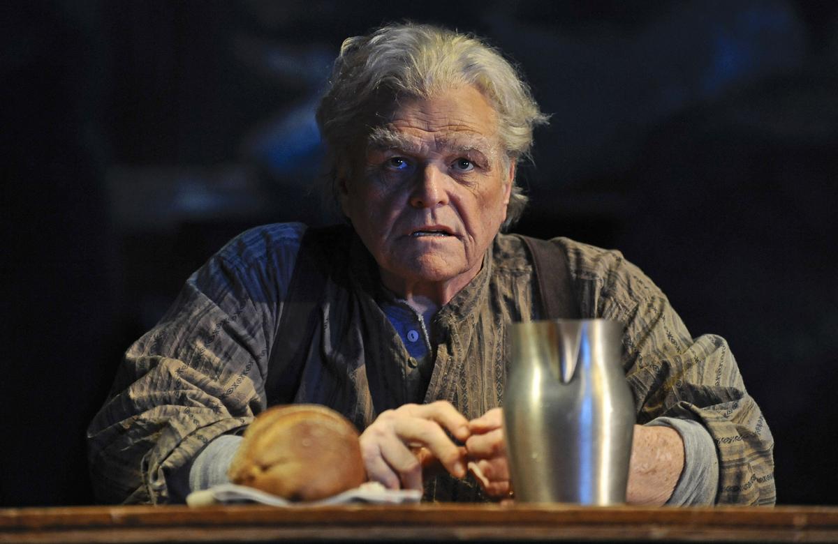 Brian Dennehy in Desire Under the Elms at Chicago's Goodman Theatre. Photo: Liz Lauren