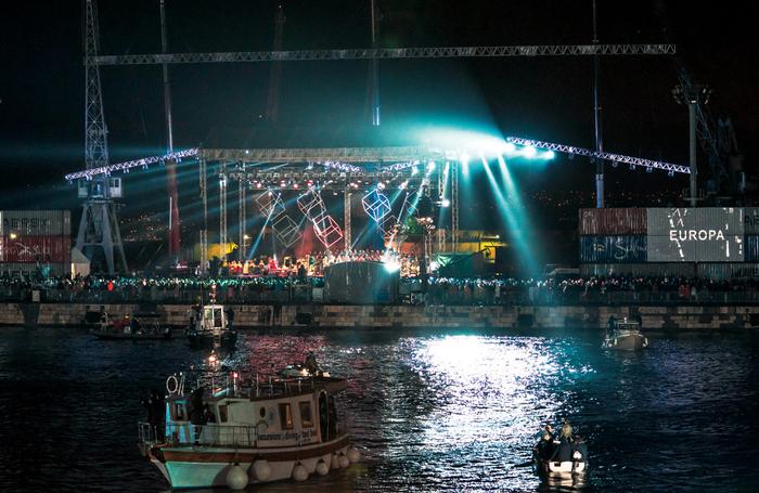 Rijekas European Capitals of Culture opening ceremony. Photo: Sebastian Dervan