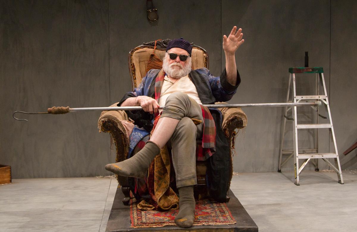 Brian Dennehy in Endgame at Long Wharf Theater in 2017. Photo: T Carles Erickson