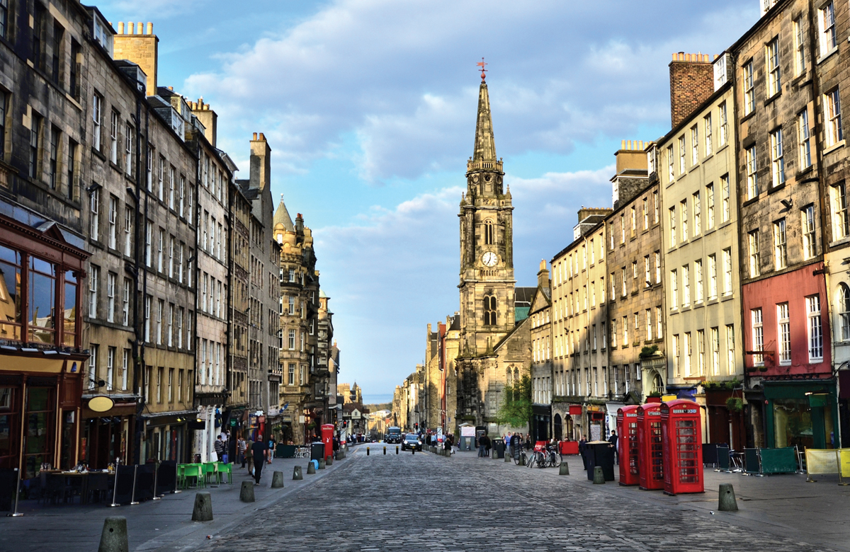 Edinburgh. Photo: Shutterstock