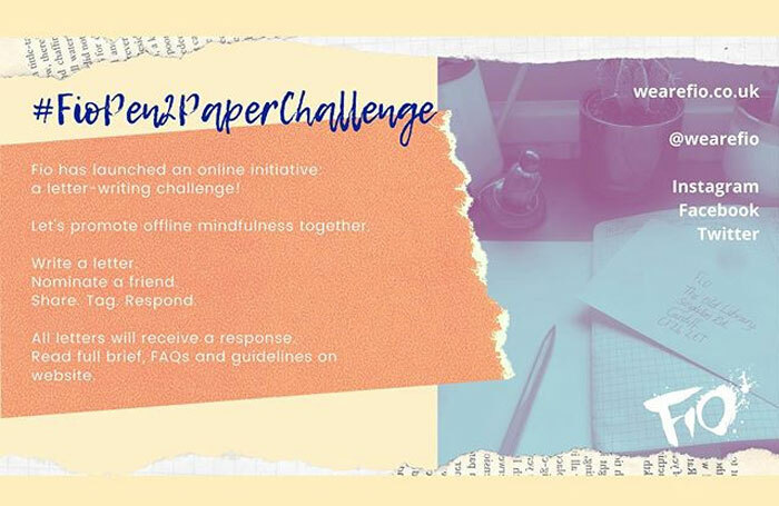 Cardiff-based company Fio has launched the #FioPen2PaperChallenge