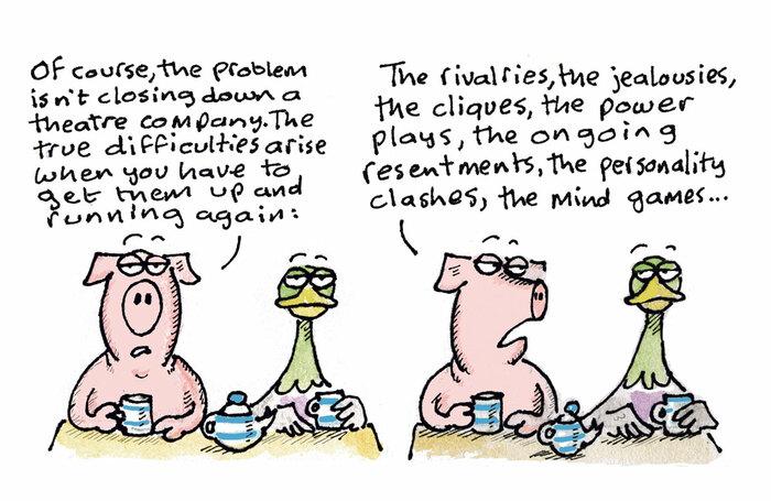 Hamlet cartoon – April 22, 2020