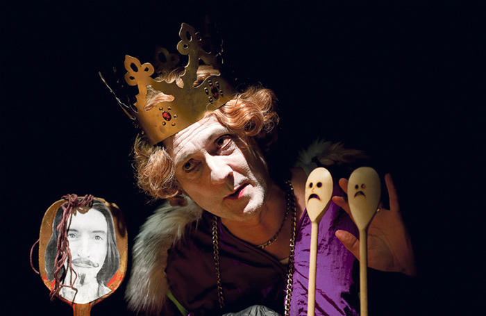The Life and Death of Puppet King Richard II at the Cave, Brighton Fringe in 2017. Photo: Kaja Curtis