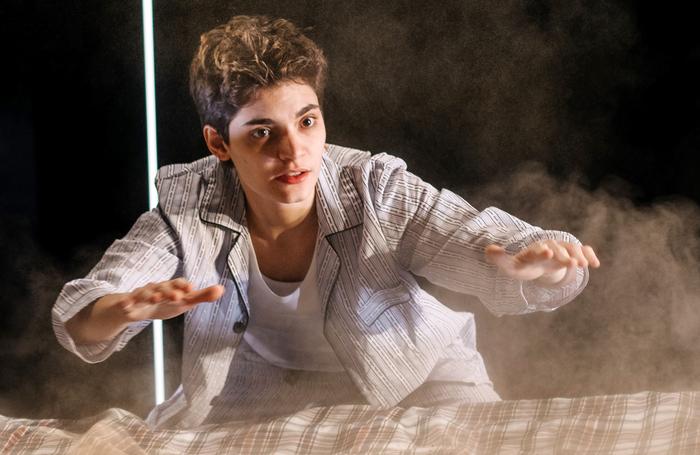 Nico Guerzoni in Vanishing Points' The Metamorphosis. Photo: Mihaela Bodlovic