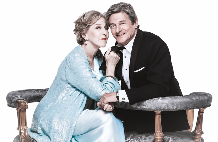 Patricia Hodge and Nigel-Havers will star together in Private Lives. Photo: John Swannell