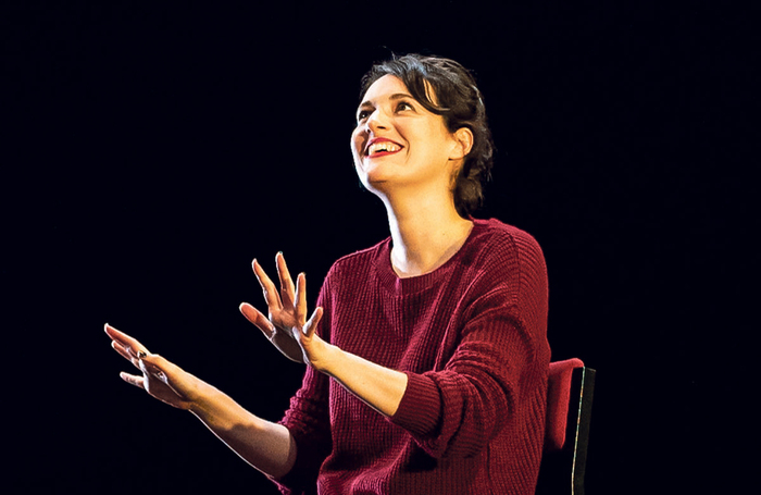 Phoebe Waller Bridge in Fleabag at Wyndhams Theatre. Photo: Matt Humphrey