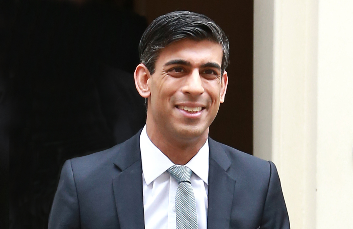 Chancellor Rishi Sunak. Photo: Shutterstock