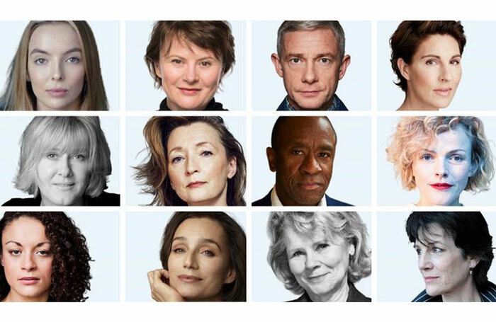 The cast of BBC Ones Talking Heads (2020)