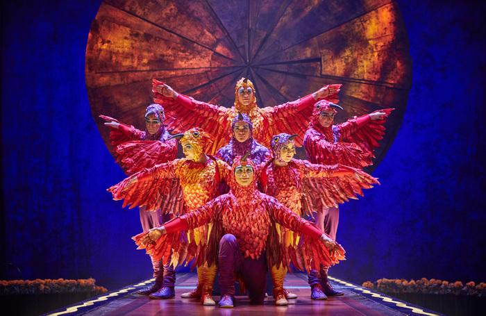 Cirque du Soleil's Luzia. Photo: Matt Beard