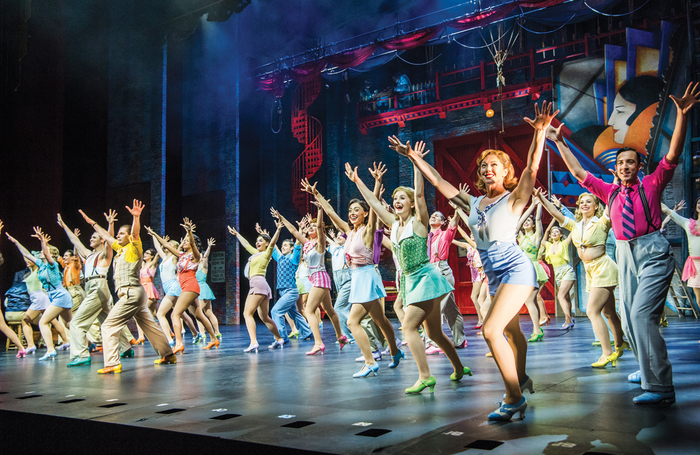 The musical 42nd Street at Theatre Royal Drury Lane