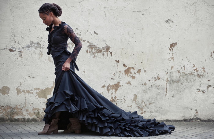 Performer Yinka Esi Graves. Photo: Nina Sologubenko