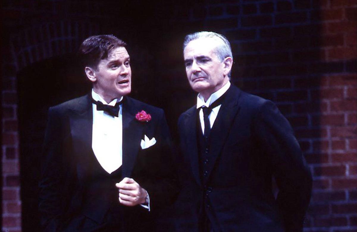 John Scherer and Richard Kline in By Jeeves. Photo: Goodspeed Musicals