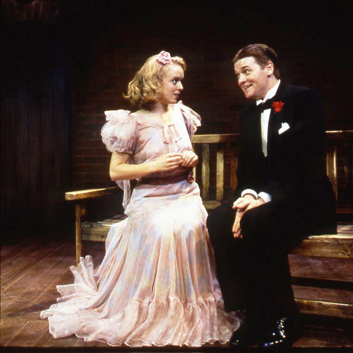 Nancy Anderson and John Scherer in By Jeeves. Photo: Goodspeed Musicals