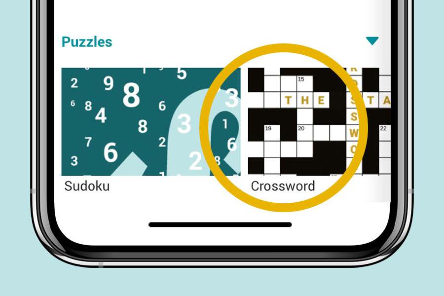 How do I access The Stage crossword?