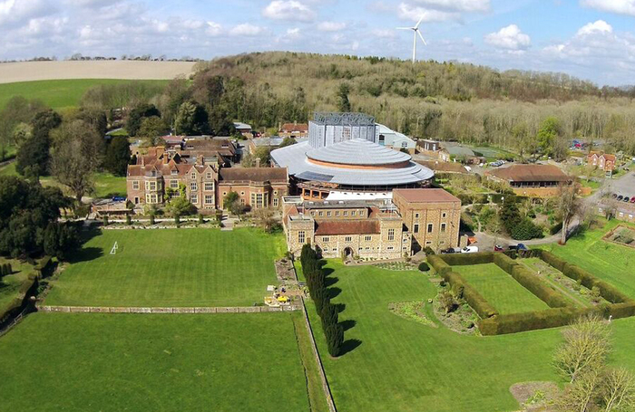 Glyndebourne from the air. Photo: Bill Hunter
