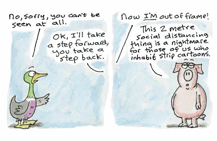 Hamlet cartoon – April 29, 2020