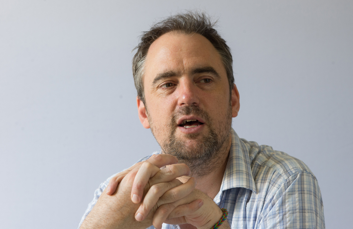 Headlong's outgoing artistic director Jeremy Herrin