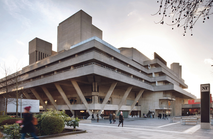 National Theatre from the South Bank. Photo: Philip Vile