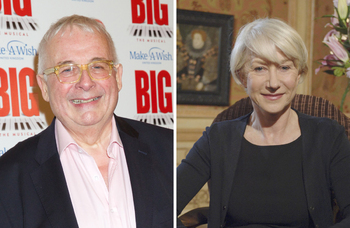 Coronavirus: Helen Mirren and Christopher Biggins donate prizes for silent auction