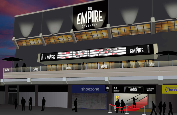 Artist's impression of the new Coventry Empire