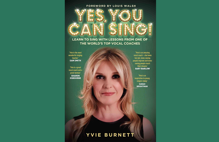 Voice coach Yvie Burnett's book Yes, You Can Sing