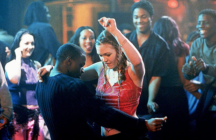 Sean Patrick Thomas and Julia Stiles in Save the Last Dance. Photo: MTV/Paramount Pictures