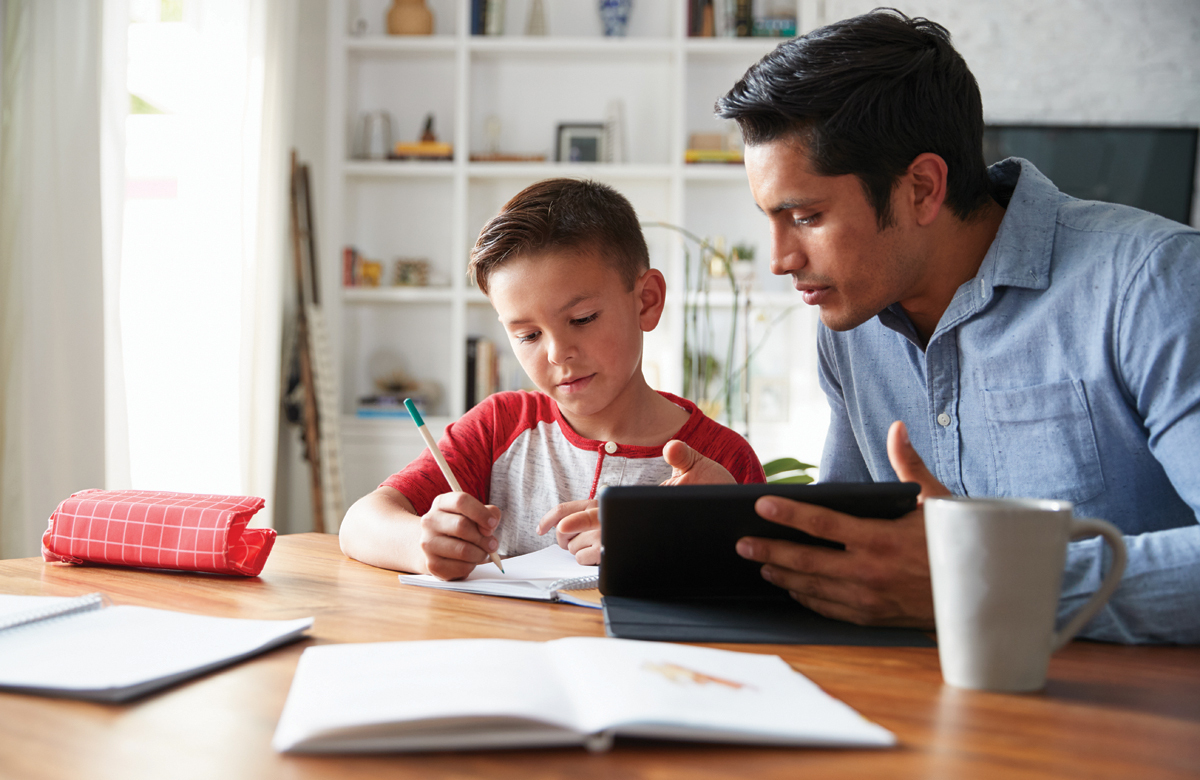 The panel agree they hope the rest of the year does not mean more homeschooling. Photo: Shutterstock
