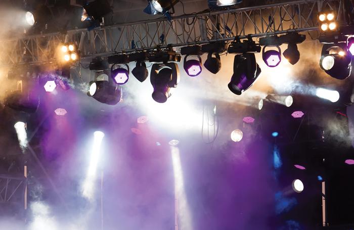 Backstage lighting. Photo: Valerii Ivashchenko/Shutterstock