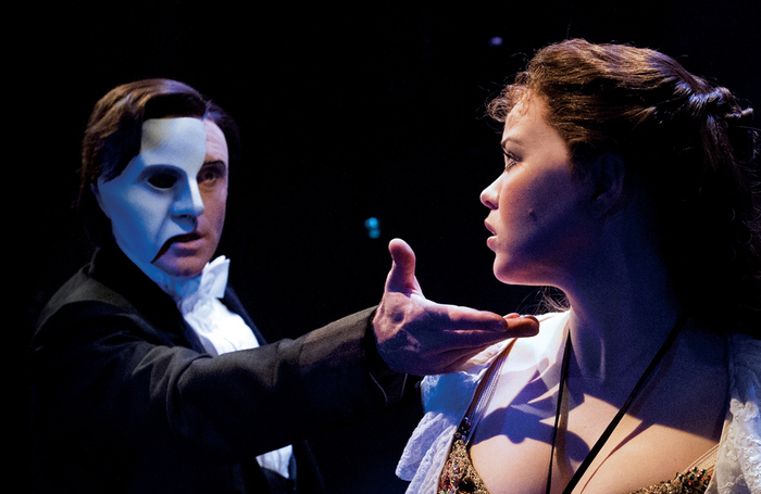 Only the Phantom can really get away with wearing a mask on stage, says Rob Halliday