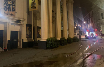 Flooding at West End's Lyceum Theatre leaves orchestra pit 12ft under water
