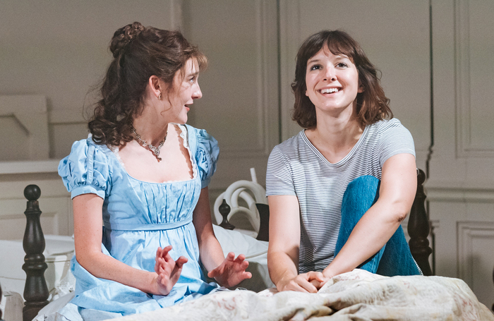 Grace Molony and Louise Ford in The Watsons. Photo: Manuel Harlan