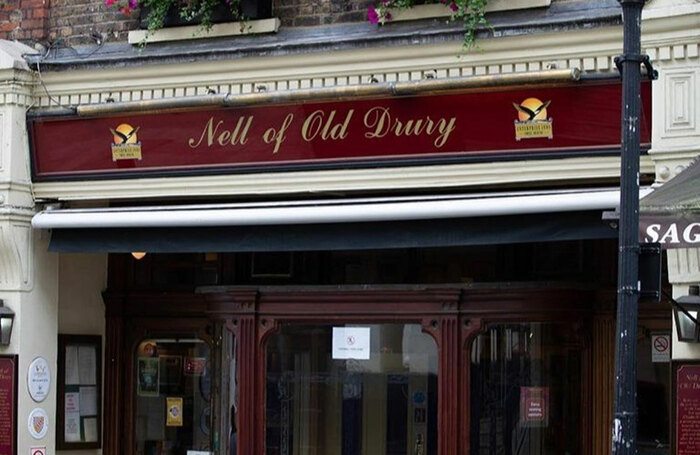The Nell of Old Drury pub in the West End