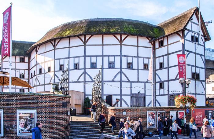 Shakespeares Globe. Photo: Shutterstock