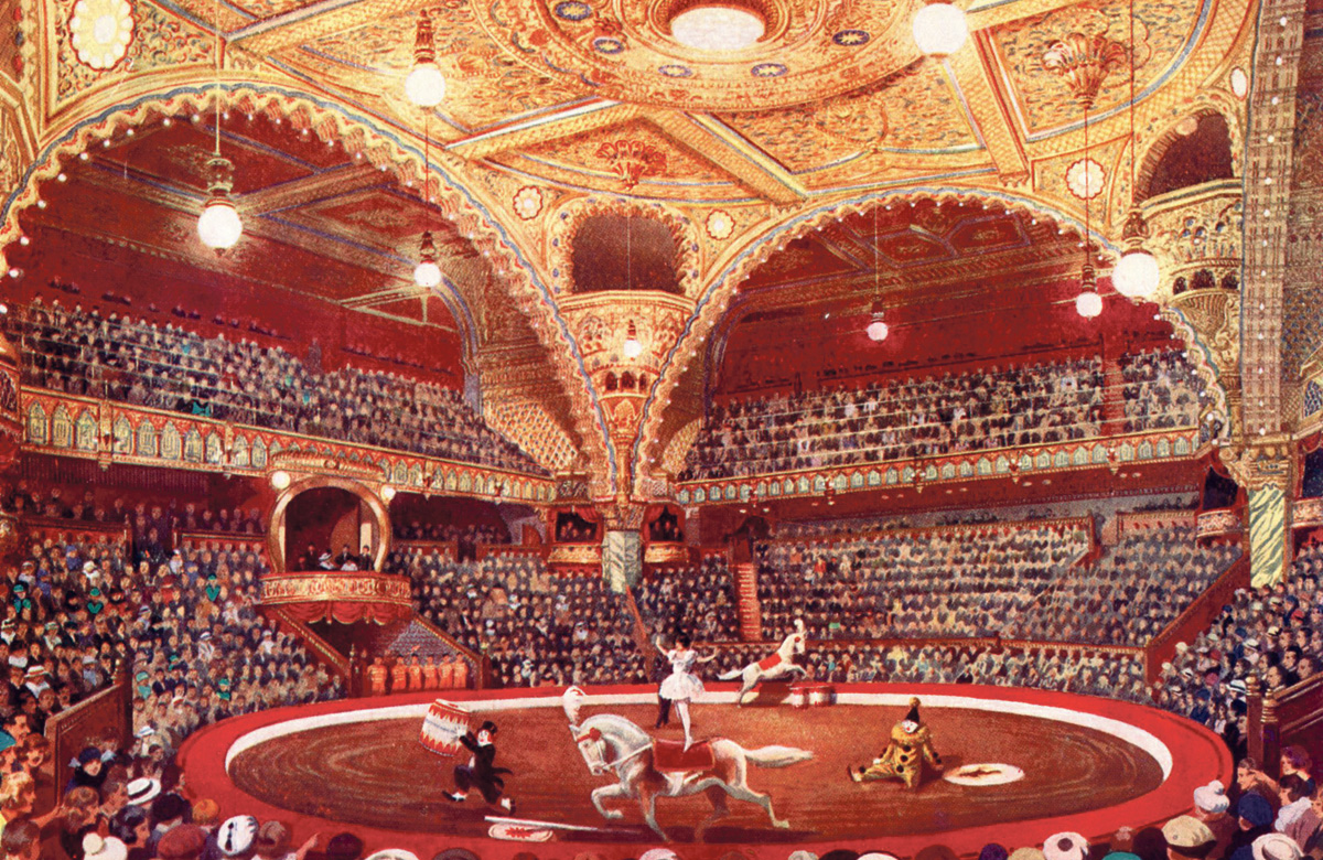 Frank Matcham's extravagant palaces were models of social inclusion