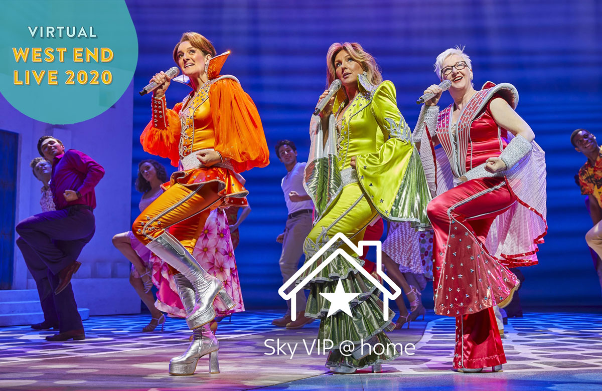 Virtual West End Live will feature stars from a variety of West End musicals performing on a weekly basis. Photo: Sky