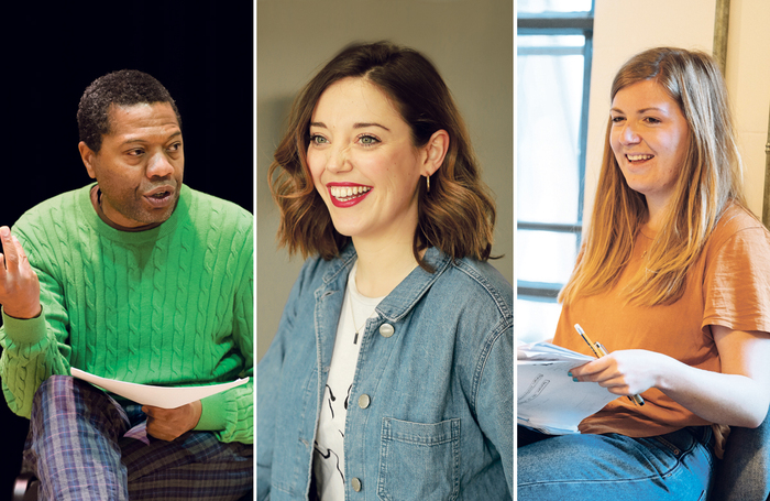 Dramaturg Ola Animashawun and writers Maddie Rice and Miriam Battye are among experts offering their advice on finding inspiration. Photos: Patrick Baldwin/Matt Nalton/Helen Murray