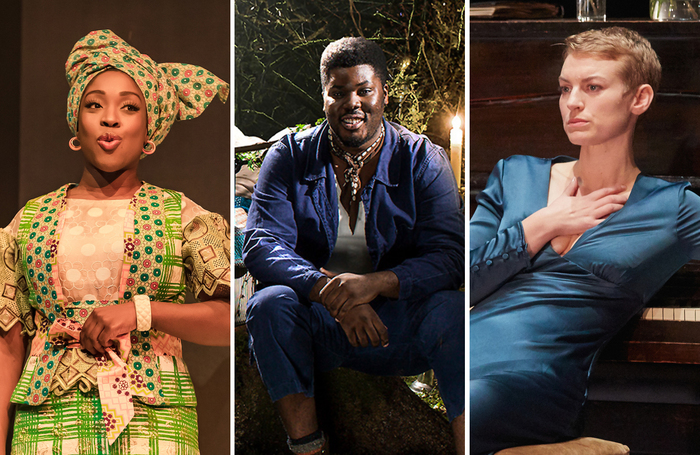 Ronke Adekoluejo, Hammed Animashaun and Heledd Gwynn are among actors to be shortlisted for the Ian Charleston Awards. Photos: The Other Richard/Perou/Mark Douet
