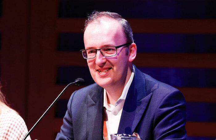 Julian Bird speaking at an industry event in 2016. Photo: Pamela Raith