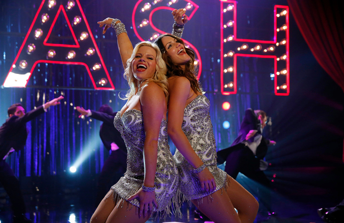Megan Hilty and Katharine McPhee in Smash