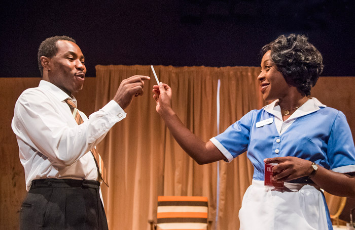 The Mountaintop at London's Young Vic. Photo: Tristram Kenton